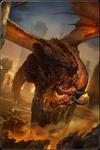 Merlins Drache T4 Groß