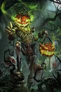 Squelette citrouille 4