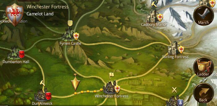 Castle siege icons
