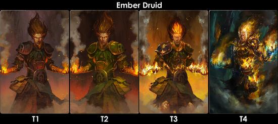 Ember druid