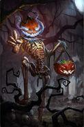 Squelette citrouille 2