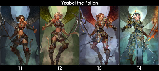 Yzabel The Fallenevo