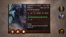 Blighted Overlord T4