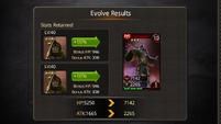 Father Maleficent evolve max evo2 to evo3