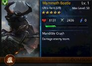 Mammoth Beetle T1