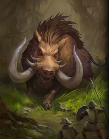 Giant Boar Heroes Of Camelot Wiki Fandom Powered By Wikia