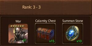 Calamity Rank 3