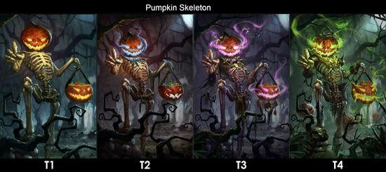 Pumpkin Skeleton