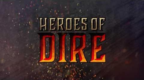 Heroes of Dire Gameplay Trailer