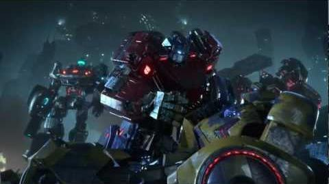 VGA Cinematic Trailer - Official Transformers Fall of Cybertron Cinematic Video