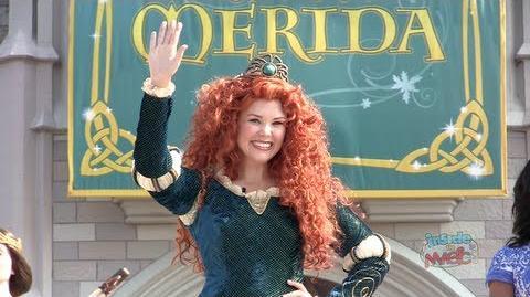 Merida becomes 11th Disney Princess in coronation ceremony at Walt Disney World