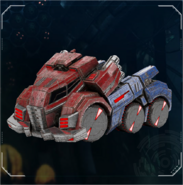 FOC Optimus Prime vehicle