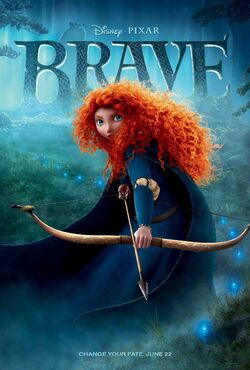Brave Movie Poster 1
