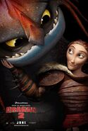 HTTYD2 Valka movie poster