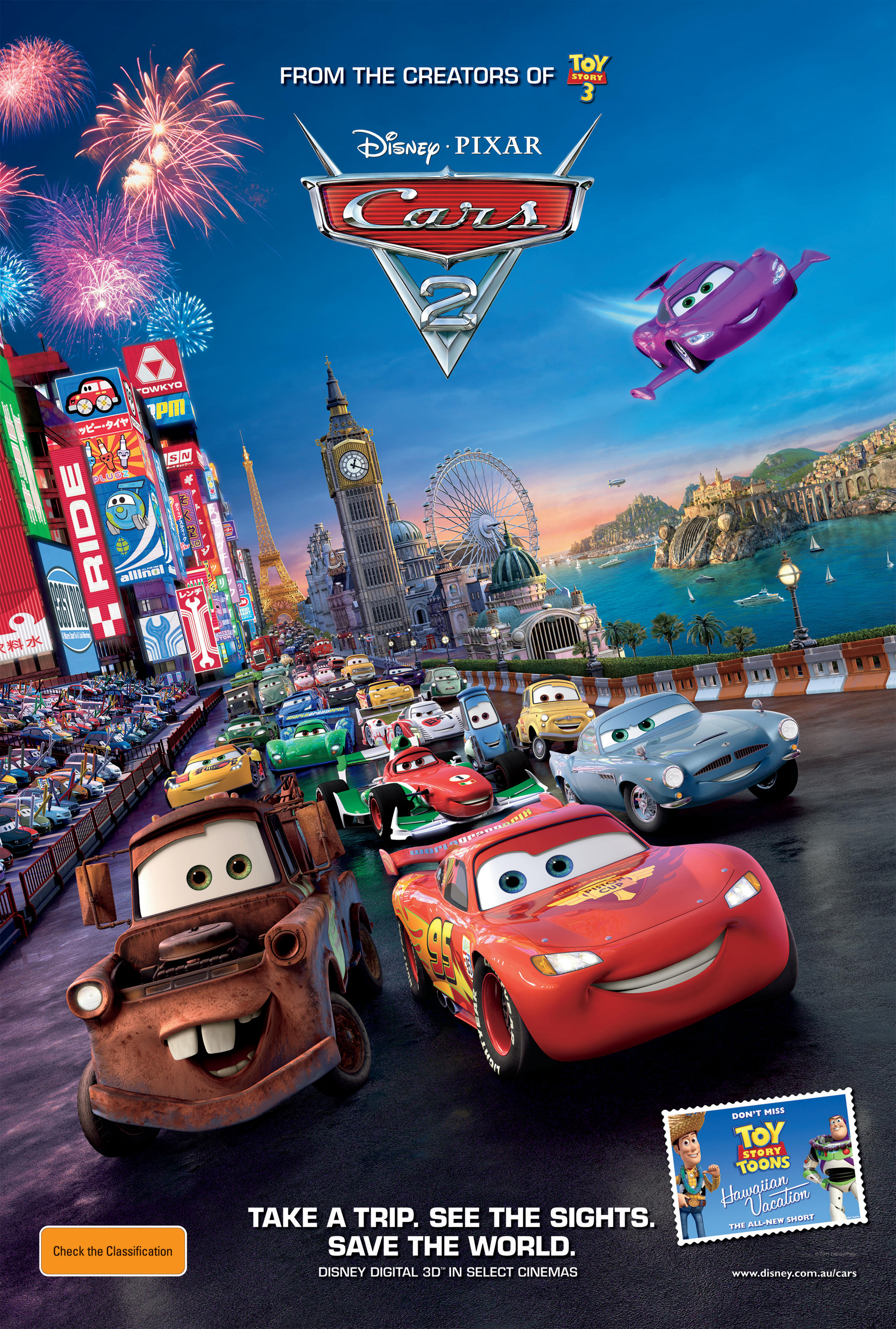 Cars 2 2011 Heroes Of The Characters Wiki Fandom