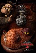 HTTYD2 irst Look Gobber