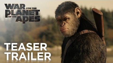War for the Planet of the Apes Teaser Trailer HD 20th Century FOX