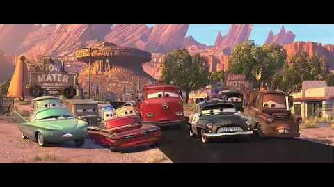 Disney Pixar Cars Trailer