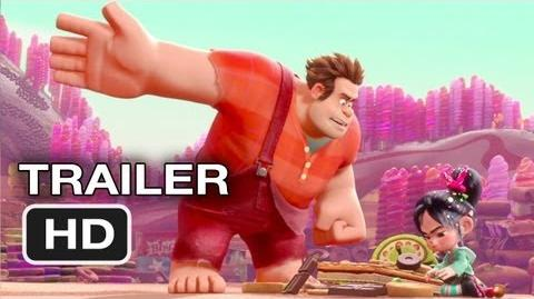 Wreck-It Ralph Official Trailer 2 (2012) Disney Animated Movie HD