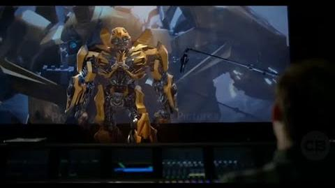 Transformers The Last Knight - Bumblebee On The Set 'Voice'