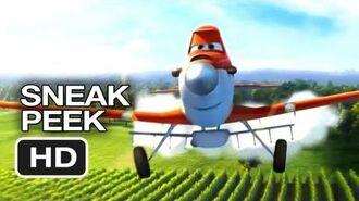 Planes Official Sneak Peek (2013) - Dane Cook Disney Animated Movie HD