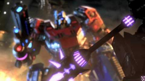 90 Second Launch Spot - Official Transformers Fall of Cybertron Game Video