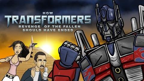 How Transformers Revenge of the Fallen Should Have Ended