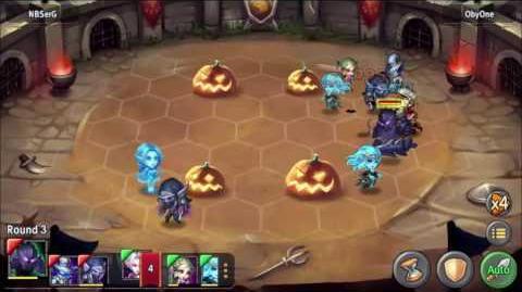 Heroes Tactics Arena to last hit