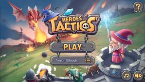 Heroes Tactics Start Menu
