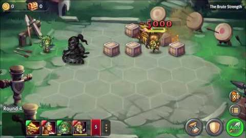 Heroes Tactics Bonus stage №27 25.12 3*
