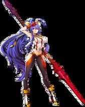 Mai Natsume 28Centralfiction2C Character Select Artwork29
