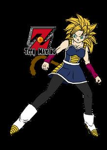 Gine ssj fan arts line art by theothersmen by teenmaxing-d7j3i1b