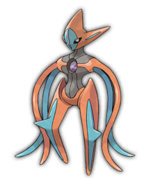 Deoxys attack forme