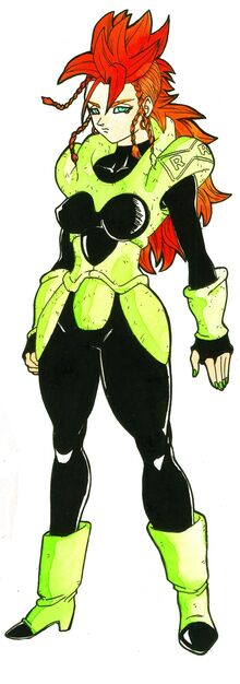 Android 16 female by bloodsplach-d7gxxo6