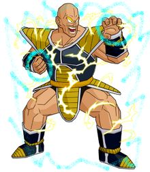Saiyan Power Nappa