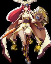 Tsubaki Yayoi 28Centralfiction2C Character Select Artwork29