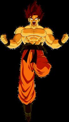 Goku (False Super Saiyan)
