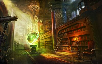 Library fantasy art books artwork 4000x2500 wallpaper www.wall321.com 39