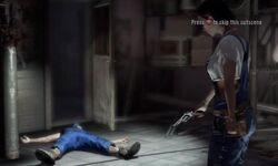 Jil shoots Infected Earl