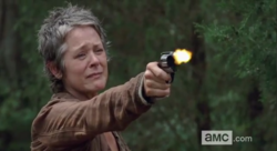 Carol executes Lizzie