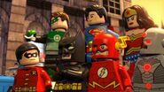 Justice League in Lego