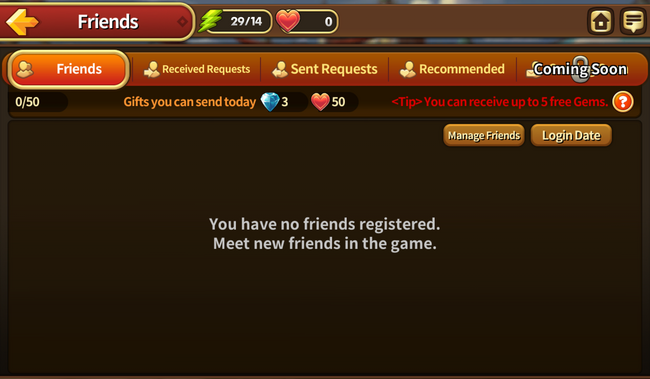 Heroes Wanted Friends Screen