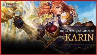 Karin banner