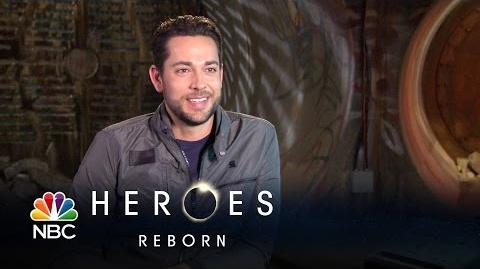 Heroes Reborn - Zachary Levi (Interview)