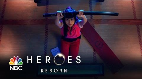 Heroes Reborn - Katana Girl Comes to Life (Episode Highlight)