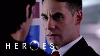 Peter Confides in Nathan and Loses Claire Heroes S01 E23 - How To Stop A Man Exploding