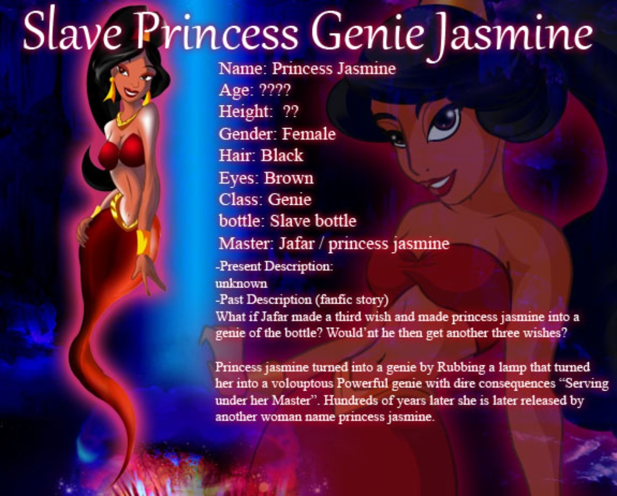 f6dd7d1b27b Slave Genie Jasmine | Heroes Fanon Wiki | FANDOM powered by Wikia