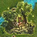 Elven Wooden House