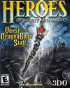 Heroes of Might and Magic Quest for the Dragon Bone Staff-обложка