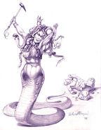 Королева медуз (концепт-арт)